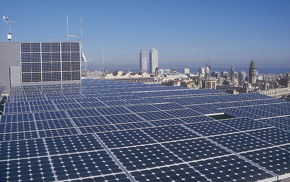 Plaques solar Ajuntament de Barcelona