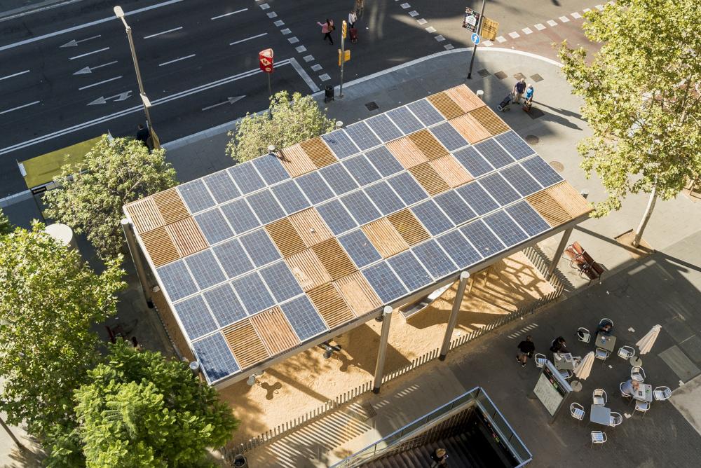 Sobirania energètica, plaques solars